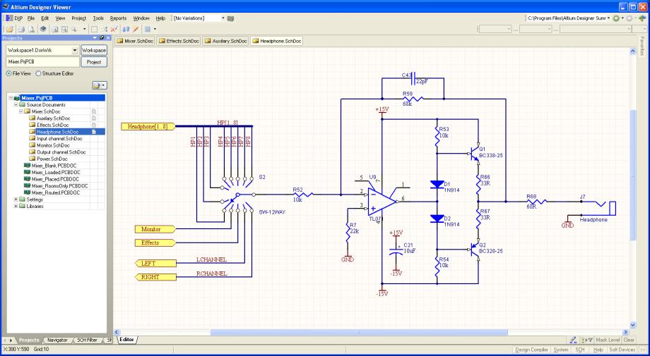 altium designer viewer  online documentation for altium products, schematic