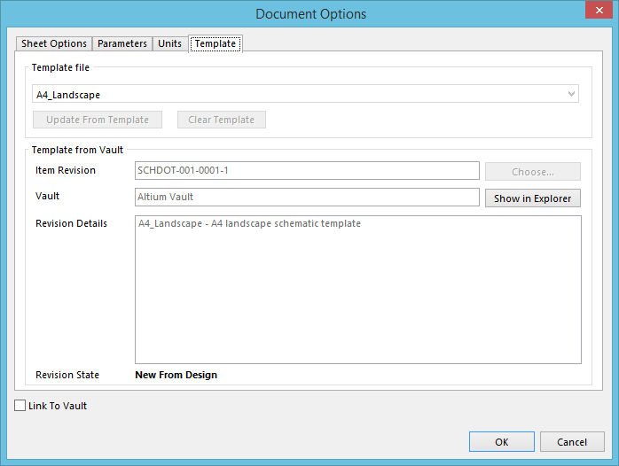 reusing a managed schematic template item  online documentation, schematic