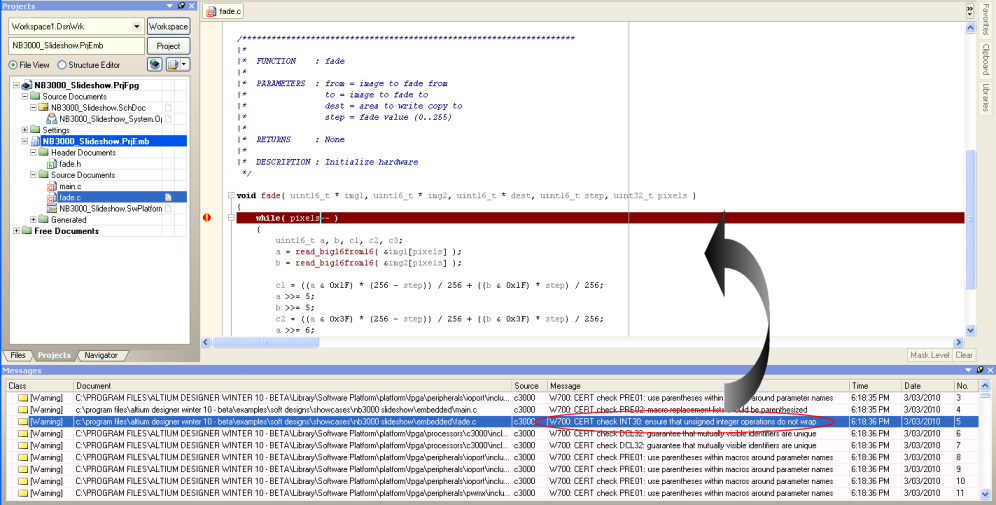 Static Code Analysis - CERT C Secure Code Checking   Online ...