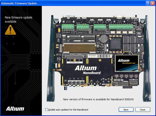 a class update firmware ntg5.1