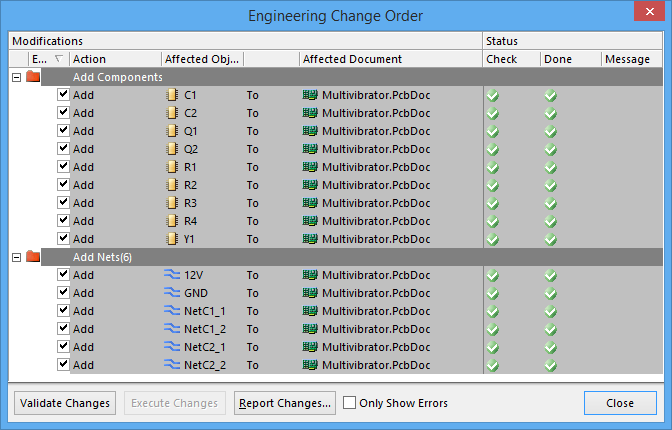 how to change netlabel altium