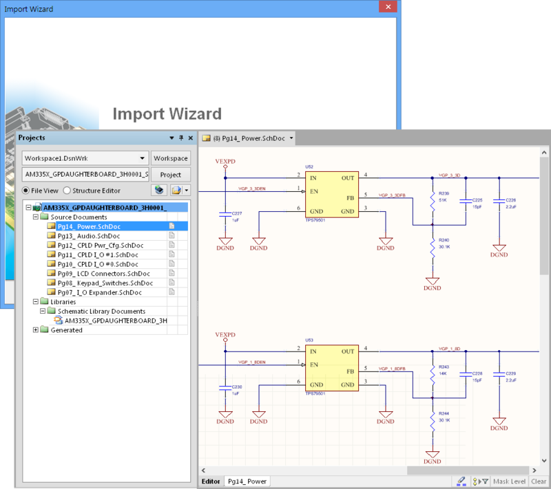 orcad 16 x import support online documentation for