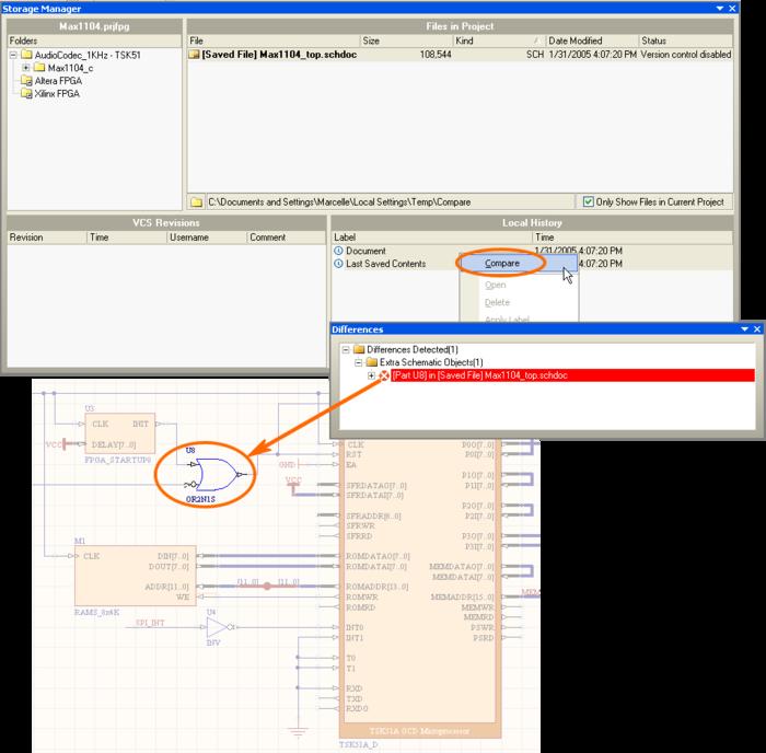 compare two pdf files online