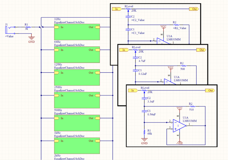 Parametric Hierarchical Design | Online Documentation for Altium ...