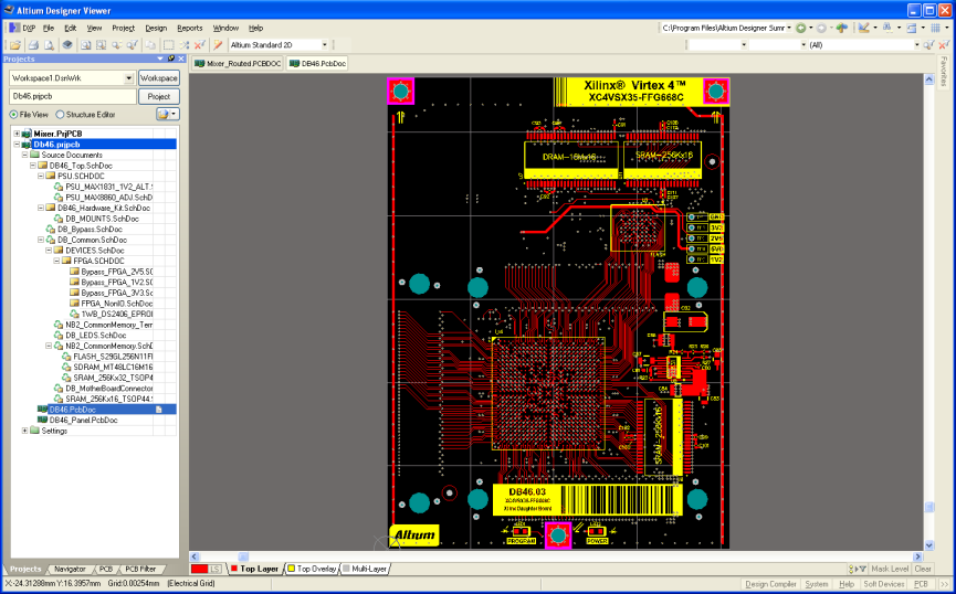 altium designer viewer viewing pcb documents online. Black Bedroom Furniture Sets. Home Design Ideas