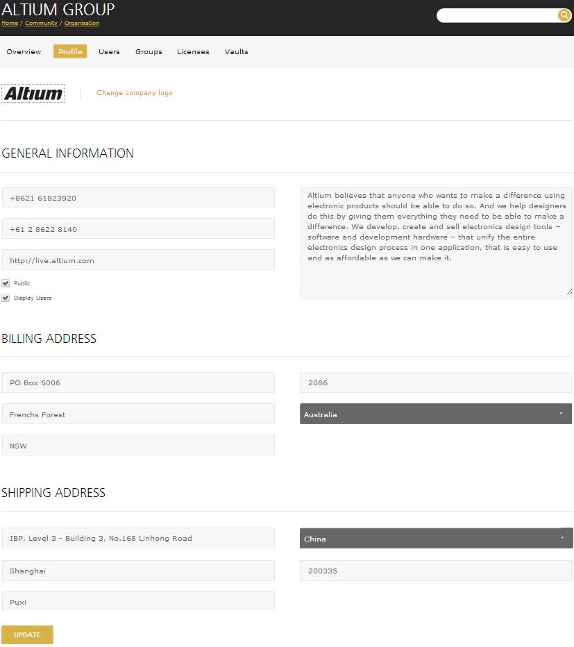 AltiumLive Online Documentation For Altium Products - Online invoice dtv