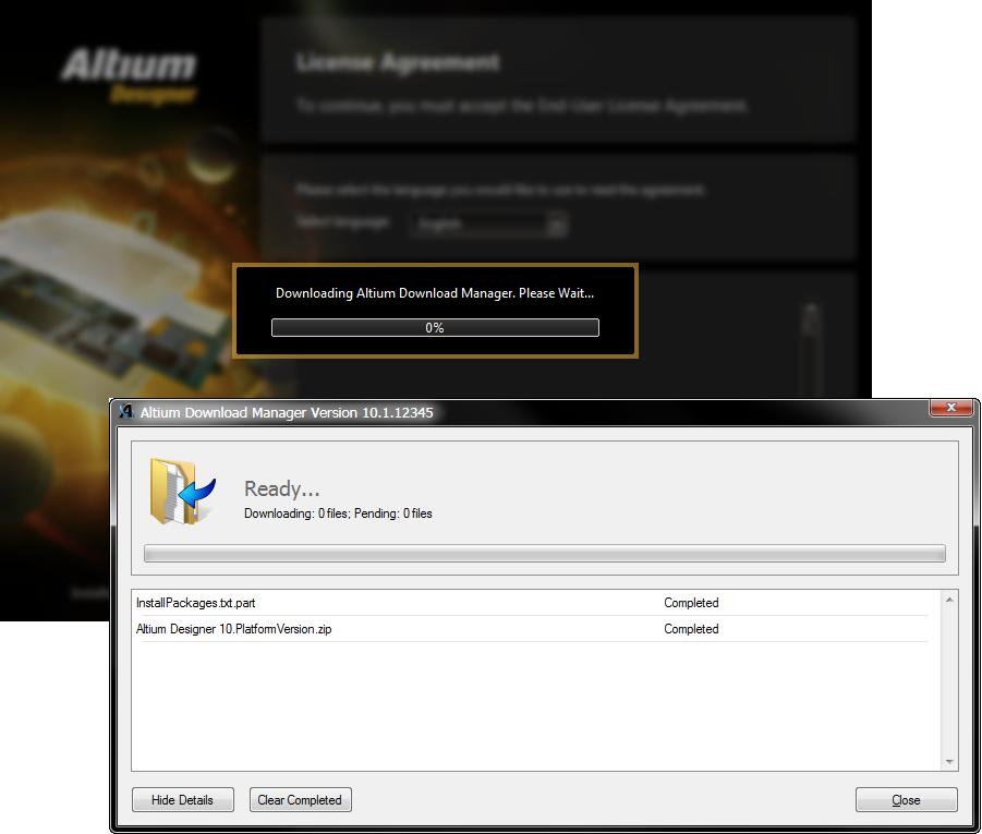 Installing Altium Designer With The Altium Platform Installer Online Documentation For Altium Products