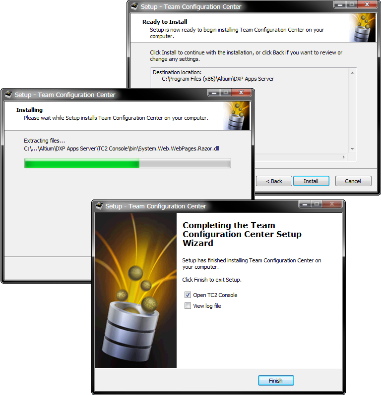 Installing & Licensing the Team Configuration Center