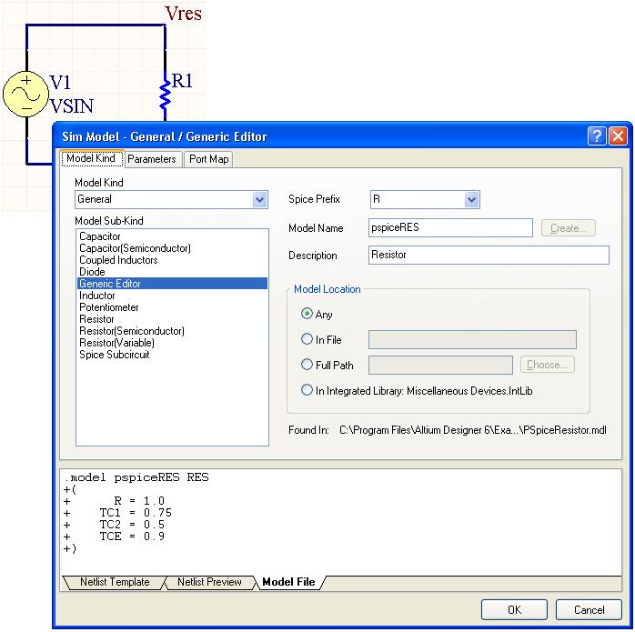 Support for PSpice Models in Altium Designer | Online Documentation