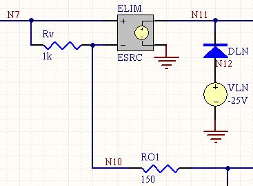 ESRC - Voltage-Controlled Voltage Source Model | Online