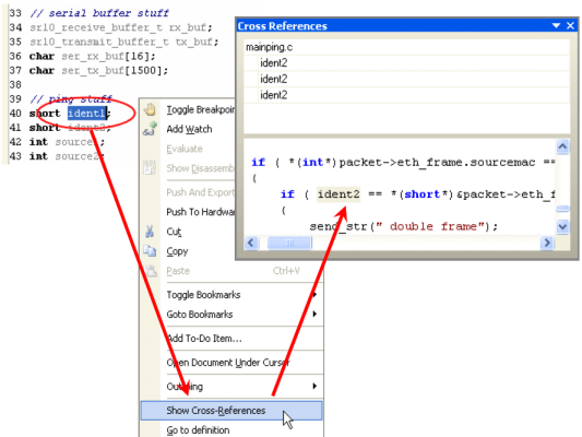 cross references online documentation for altium products