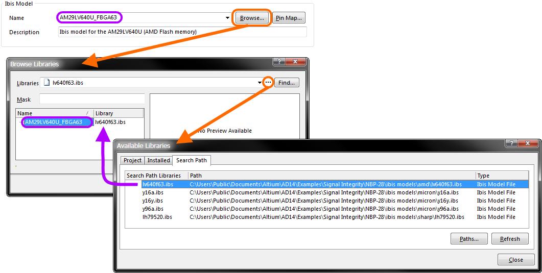 Ibis Model Implementation Editor | Online Documentation for Altium