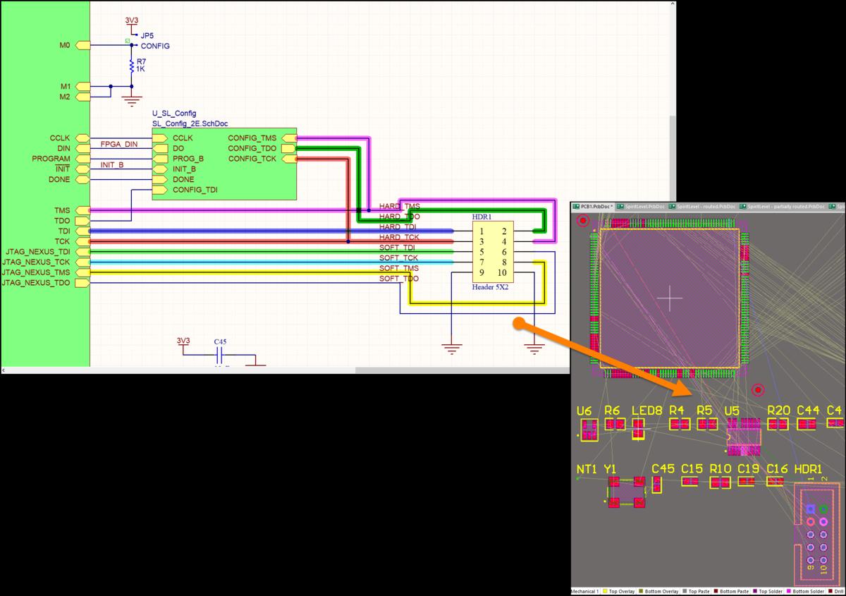 Net Color Synchronization   Online Documentation for Altium