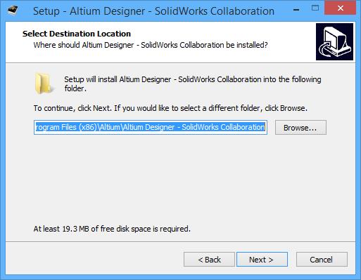 Installing the Altium Designer-SOLIDWORKS® Collaboration Add
