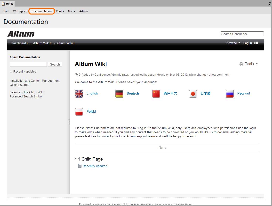 Altium Designer 2013 Home Page | Online Documentation for
