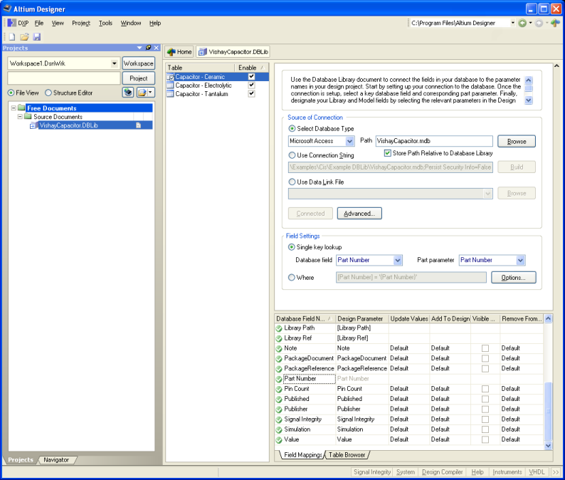 an example svn database library altium design librarysvndblib can be found in the examplesreference designssvn dblib folder of the installation - Library Database Design