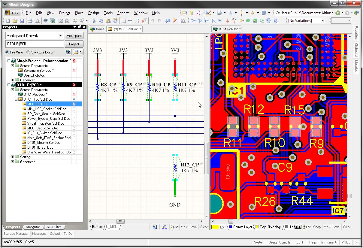 project navigation online documentation for altium products rh techdocs altium com
