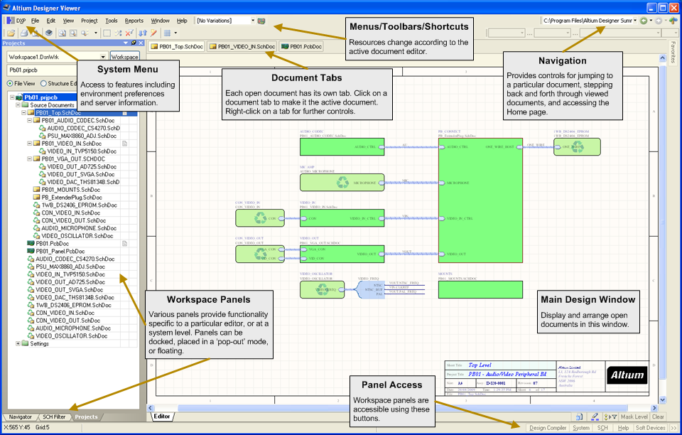 Altium Designer Viewer | Online Documentation for Altium Products