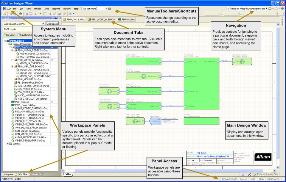 Altium designer viewer online documentation for altium products
